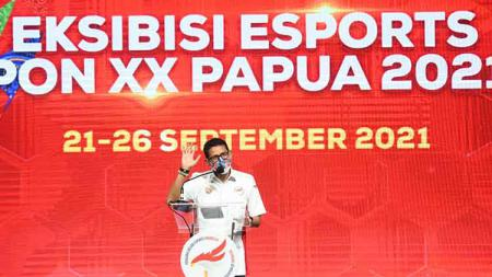 Menteri Pariwisata dan Ekonomi Kreatif (Menparekraf) Sandiaga Uno . - INDOSPORT