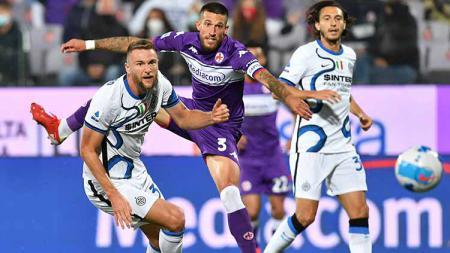 Situasi laga Fiorentina vs Inter Milan di pekan kelima Liga Italia - INDOSPORT