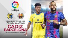 Indosport - Berikut prediksi pertandingan LaLiga Spanyol antara Cadiz vs Barcelona, Kamis (24/09/21).
