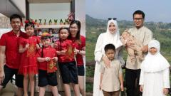 Indosport - Keluarga Hendra Setiawan dan Mohammad Ahsan.