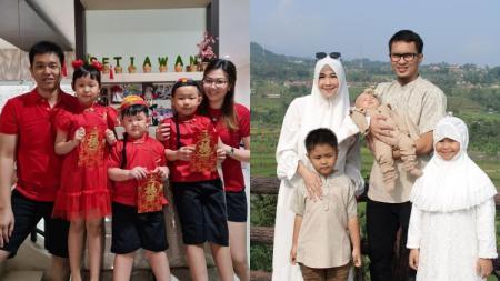 Keluarga Hendra Setiawan dan Mohammad Ahsan. - INDOSPORT