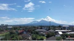 Indosport - Gunung Merapi.