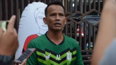 Indosport - Pelatih kepala PSMS Medan, Ansyari Lubis.