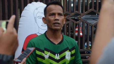 Pelatih kepala PSMS Medan, Ansyari Lubis. - INDOSPORT