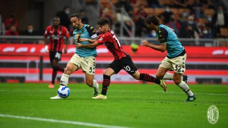 Brahim Diaz diberitakan telah pulih dari paparan virus Covid-19 dan akan kembali memperkuat klub Liga Italia, AC Milan, dalam waktu dekat. - INDOSPORT