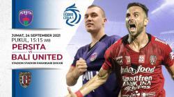 Berikut link live streaming pertandingan BRI Liga 1 2021-2022 pekan ke-4 antara Persita Tangerang vs Bali United.