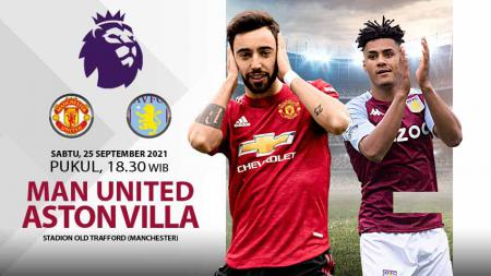 Pertandingan antara Manchester United vs Aston Villa (Liga Inggris). - INDOSPORT