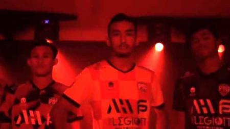 Tim AHHA PS Pati meluncurkan jersey resmi mereka untuk mengarungi kompetisi Liga 2 musim 2021. - INDOSPORT