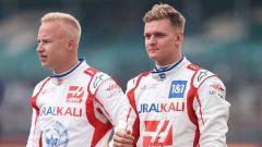 Indosport - Mick Schumacher dan Nikita Mazepin