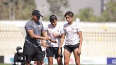 Indosport - Pelatih timnas Indonesia putri, Rudy Eka Priyambada.