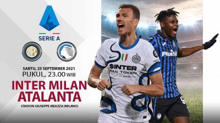 Pertandingan antara Inter Milan vs Atalanta (Serie A). - INDOSPORT