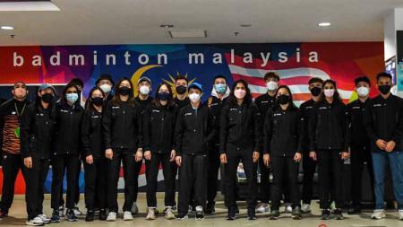 Skuat Malaysia untuk Piala Sudirman 2021 menjalani latihan perdana di Finlandia. - INDOSPORT