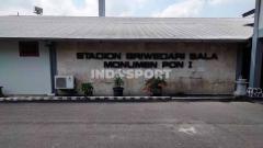 Indosport - Stadion Sriwedari, Solo, yang kini jadi Monumen PON I.