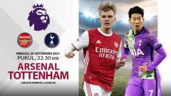 Indosport - Laga seru akan tersaji di Liga Inggris kala Arsenal menjamu Tottenham, Minggu (26/09/21) pukul 22.30. Berikut data dan fakta jelang derby London Utara itu.