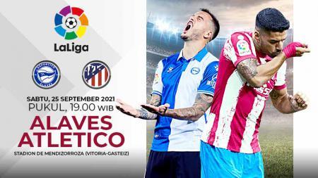 Pertandingan antara Deportivo Alaves vs Atletico Madrid (LaLiga). - INDOSPORT
