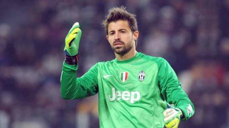 Marco Storari saat berseragam Juventus. - INDOSPORT