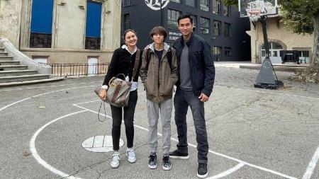 Lionel Nathan Sinathrya menimba ilmu di akademi sepakbola di Prancis. - INDOSPORT