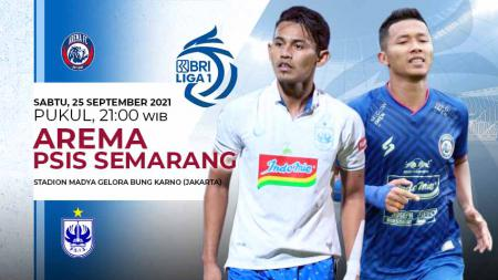 Pertandingan antara Arema FC vs PSIS Semarang (Liga 1 BRI). - INDOSPORT