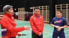 Indosport - Tim Indonesia di Piala Sudirman.