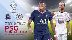 Indosport - Pertandingan antara Paris Saint-Germain vs Montpellier HSC (Ligue 1).
