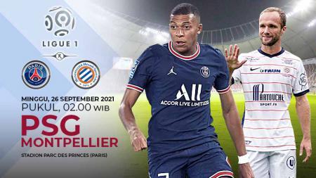 Pertandingan antara Paris Saint-Germain vs Montpellier HSC (Ligue 1). - INDOSPORT