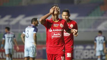 (GALERI FOTO) Potret Kemenangan Perdana Persija di Liga 1 2021 Atas Persela