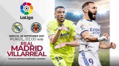 Indosport - Berikut prediksi pertandingan pekan ketujuh LaLiga Spanyol antara Real Madrid vs Villarreal, yang akan digelar Minggu (26/09/21) pukul 02.00 WIB