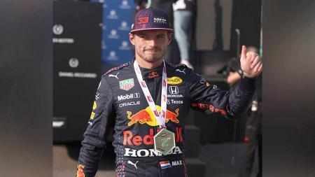 Max Verstappen pembalap Red Bull Racing di Formula 1. - INDOSPORT