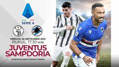 Indosport - Pertandingan antara Juventus vs Sampdoria (Serie A Italia).