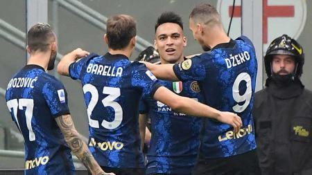 Tiga fakta rahasia ini akhirnya terbongkar dari pertandingan dramatis antara Inter Milan vs Atalatan di Liga Italia. - INDOSPORT