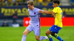 Indosport - Bintang Barcelona, Frenkie de Jong.