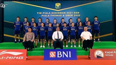 Kejuaraan beregu yang ditunggu-tunggu telah tiba, di mana hari ini Tim Indonesia akan memulai perjuangan sengit di Piala Sudirman 2021 menghadapi Rusia. - INDOSPORT