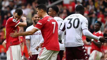 Bruno Fernandes sedih gagal mengeksekusi bola penalty - INDOSPORT
