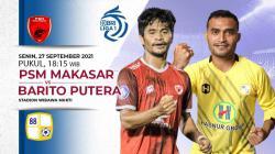 PSM Makassar akan segera berhadapan dengan Barito Putera di laga pekan ke-5 Liga 1. Anda bisa menyaksikan pertandingan tersebut melalui live streaming.