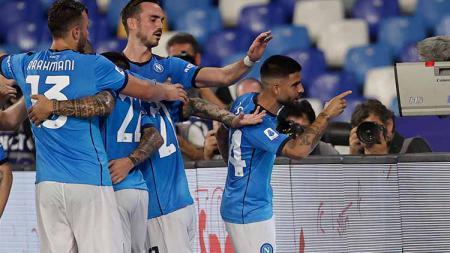 Link live streaming pertandingan matchday ketiga Liga Europa 2021/2022 Grup C antara Napoli vs Legia Warsawa pada Jum'at (22/10/21) pukul 02.00 WIB. - INDOSPORT