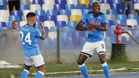Berikut Top Skor sementara Liga Italia 2021-2022 di mana Victor Osimhen menambah tabungan golnya dalam kemenangan Napoli di pekan keenam Serie A. - INDOSPORT