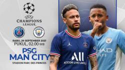 Prediksi PSG vs Manchester City (Liga Champions)
