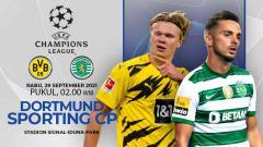 Indosport - Prediksi Borussia Dortmund vs Sporting CP (Liga Champions)