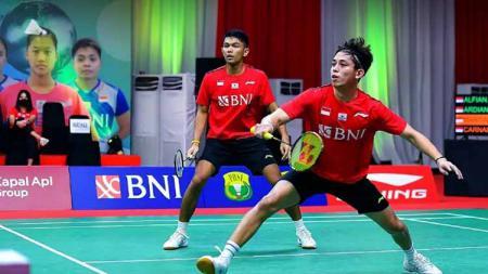 Berikut rekap hasil pertandingan empat wakil Indonesia di babak 32 besar ajang bulutangkis French Open 2021 pada Selasa (26/10/21). - INDOSPORT