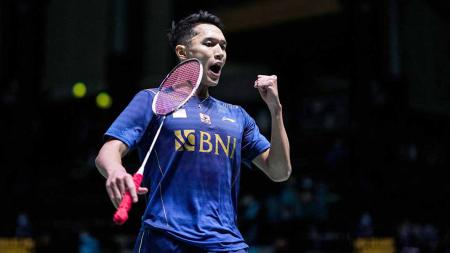 Jonatan Christie, pebulutangkis tunggal putra asal Indonesia di Piala Sudirman 2021. - INDOSPORT