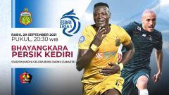 Indosport - Prediksi pertandingan antara Bhayangkara FC vs Persik Kediri pada pekan kelima Liga 1 di Stadion Madya Senayan, Rabu (29/09/21).