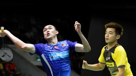 Duet baru ganda putra Malaysia, Tan Wee Kiong/Tan Kian Meng, harus sabar menanti juara usai takluk di final Dutch Open 2021. - INDOSPORT