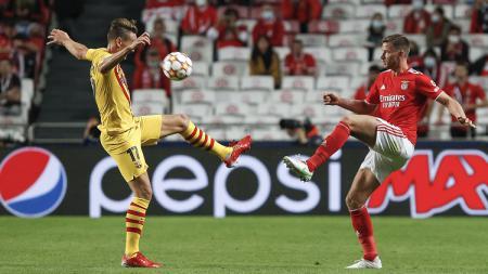 3 Biang Kerok Kekalahan Barcelona dari Benfica di Liga Champions - INDOSPORT