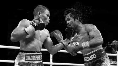 Pertarungan antara Manny Pacquiao vs Chris John - INDOSPORT