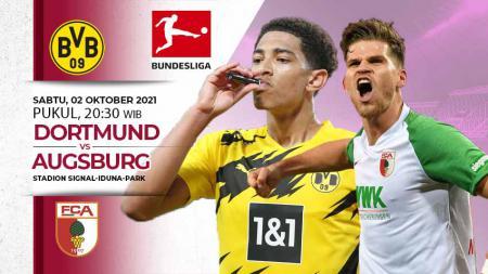 Link Live Streaming Bundesliga Jerman antara Borussia Dortmund vs Augsburg. - INDOSPORT