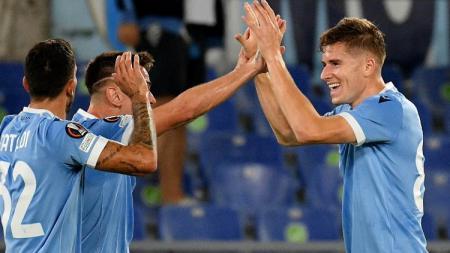 Berikut rekap hasil Liga Europa 2021/2022, Kamis (30/09/21) malam hingga Jumat (01/10/21) dini hari. West Ham dan Lazio menang, Leicester dan Napoli tumbang. - INDOSPORT