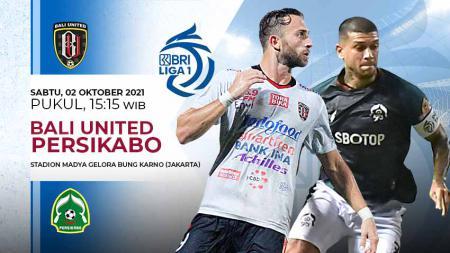 Pertandingan antara Bali United vs Persikabo (Liga 1 BRI). - INDOSPORT