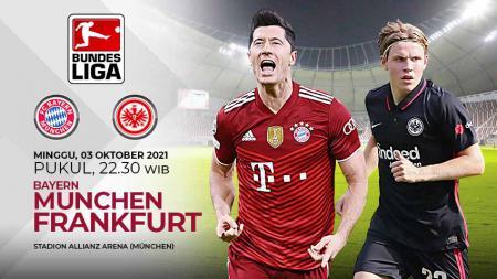 Prediksi pertandingan Bundesliga Jerman antara Bayer Munchen vs Eintracht Frankfurt, Minggu (03/10/21). - INDOSPORT