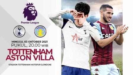 Pertandingan antara Tottenham Hotspur vs Aston Villa (Liga Inggris). - INDOSPORT