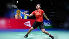 Indosport - Pebulutangkis Gregoria Mariska Tunjung di di Sudirman Cup 2021.